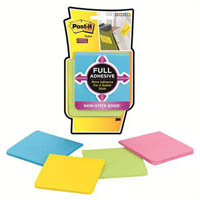POST-IT F330-4SSAU SUPER STICKY FULL ADHESIVE NOTES ULTRA COLOUR PACK 4